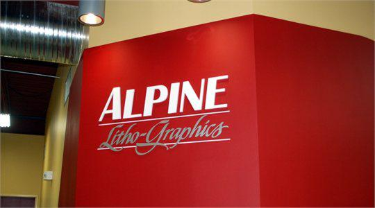 Alpine Litho Dimensional Letters