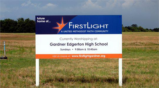First Light Site Signs