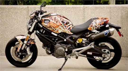Ducati Motorcycle Wrap