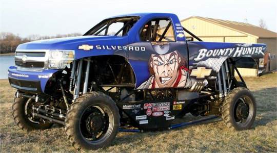 Monster Truck Bounty Hunter Promo Wrap