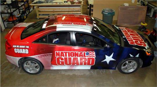 National Gaurd Wrap