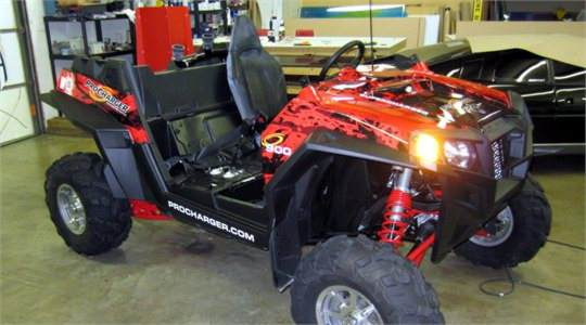 ProCharger Polaris RZR Wrap
