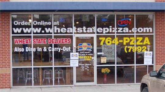 Wheat State Pizza Windows