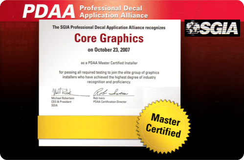 PDAA Master Certification 2007