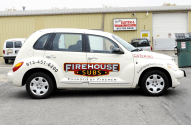 Firehouse Subs Graphics Installation