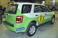 Geico Vehicel Wrap