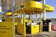 Hertz Kiosk Wrap