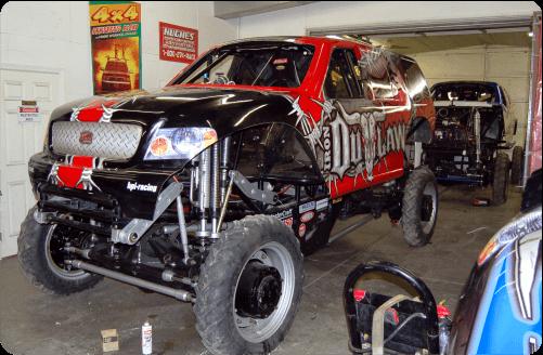 Iron Outlaw Monter Truck Wrap