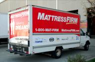 Mattress Firm Box Truck Wrap